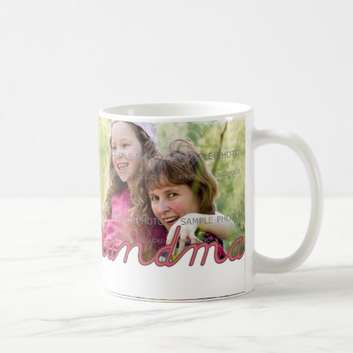 Personalized Mother's Day Photo Mug for Grandma