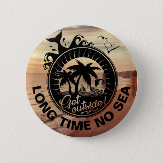 Personalized Motivational Quote or Beach Location Button