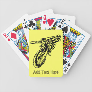 Personalized Motorcycle Playing Cards