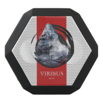 Personalized Mountain Gorilla Design. Black Bluetooth Speaker