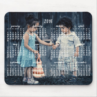 Personalized Mouse Pad Calendar 2016