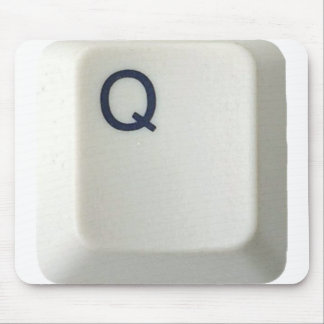 Personalized mousepad Computer Key_Q
