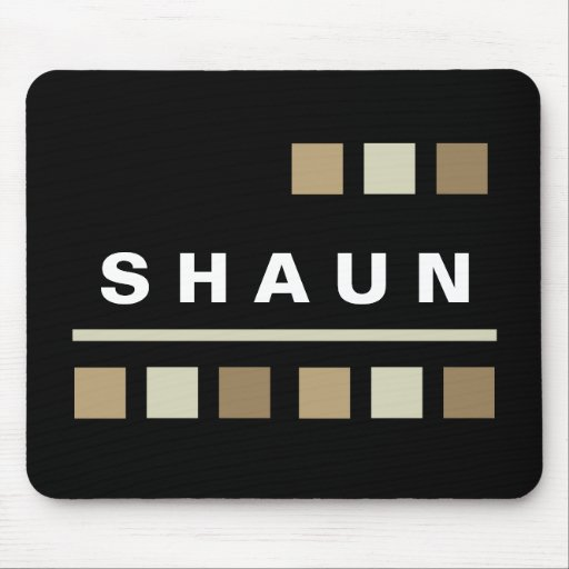 Personalized Mousepads - Black