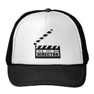 Personalized Movie Director Clapboard Gift Mesh Hats