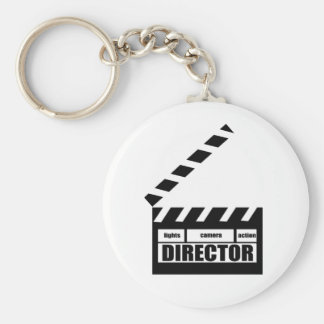 Personalized Movie Director Clapboard Gift Keychain