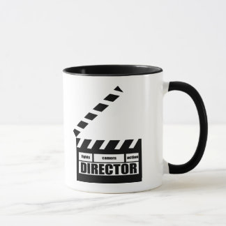 Personalized Movie Director Clapboard Gift Mug