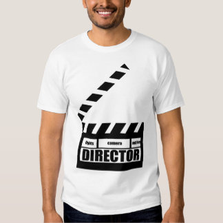 Personalized Movie Director Clapboard Gift T Shirt