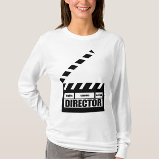 Personalized Movie Director Clapboard Gift T-Shirt