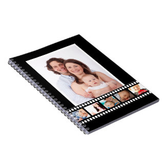 Personalized Movie Reel Make Your Own Custom DIY Notebook