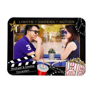 Personalized Movie Star Frame Magnet