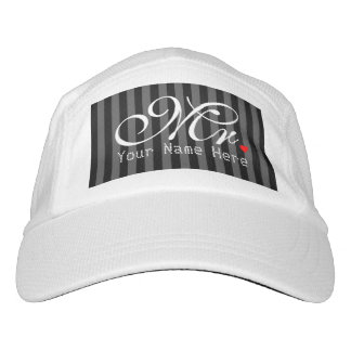 Personalized Mr. Husband Groom His Hers Newly Weds Headsweats Hat