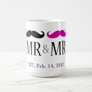 Personalized MR & MR Mugs