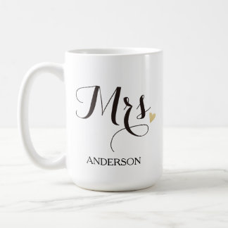 Personalized Mrs. Future Mrs. Coffee Mug