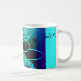 Personalized Mug in Blues