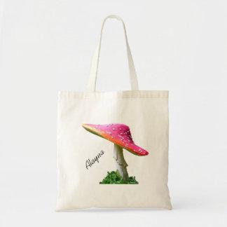 Personalized Mushroom Tote Bag