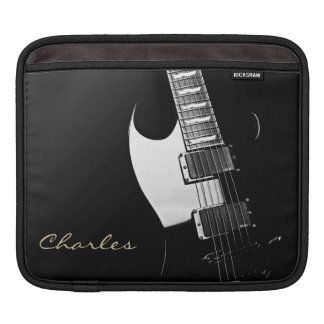 Personalized Music Electric Guitar iPad Sleeve