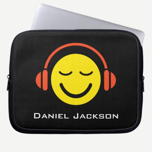 Personalized music laptop sleeve