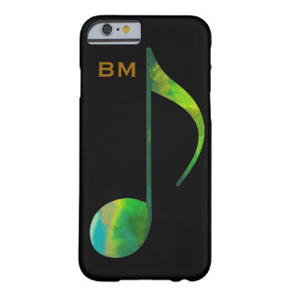personalized music_note barely there iPhone 6 case