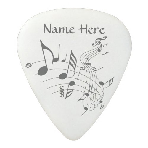 Personalized Music Note Guitar Pick with YOUR NAME