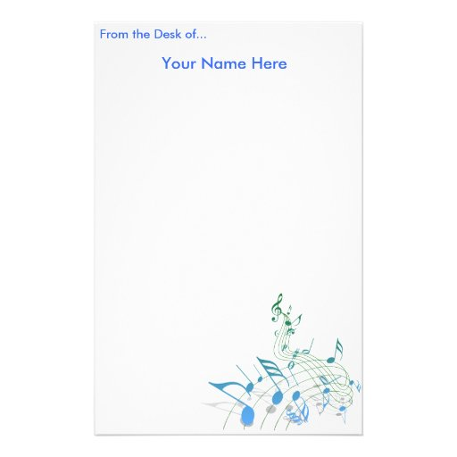 personalized writing paper uk