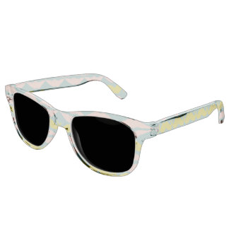 Personalized Mustache & Lips N # 7 Sunglasses