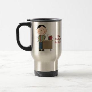 Personalized My Teacher Rocks Travel Mug