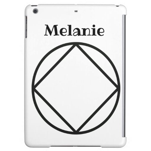 Personalized NA Gift Any Name, Words or Colour Case For iPad Air