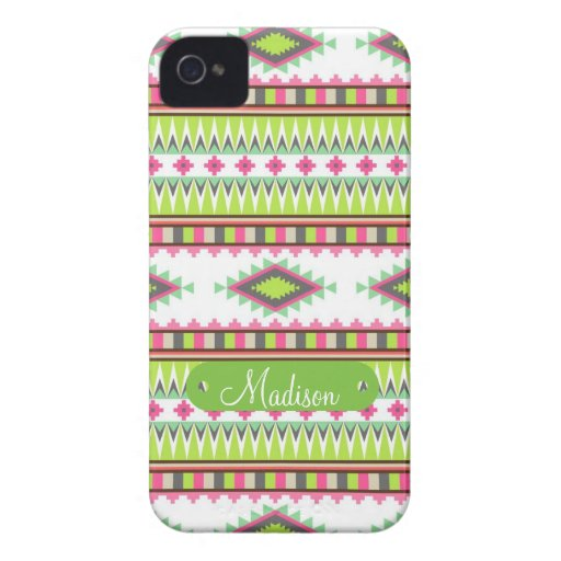 Personalized Name Aztec Andes Tribal Mountains Blackberry Bold Cases