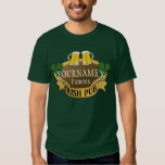 Personalized Name Beer Irish Pub St Patrick's Day T Shirt