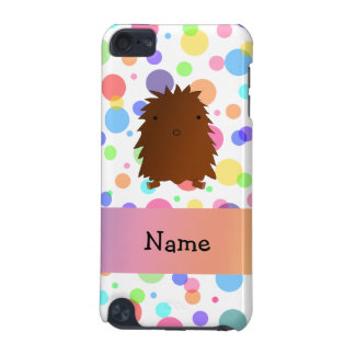 Personalized name bigfoot rainbow polka dots iPod touch 5G case