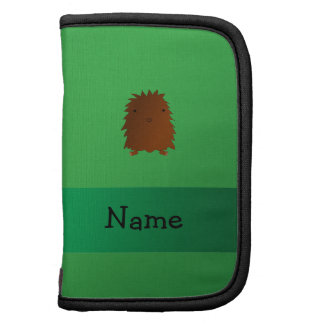 Personalized name bigfoot - sasquatch green planners