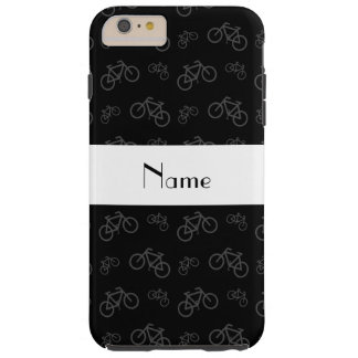 Personalized name black bicycles tough iPhone 6 plus case