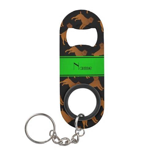 personalized name black brussels griffon dogs mini bottle opener zazzle. Black Bedroom Furniture Sets. Home Design Ideas