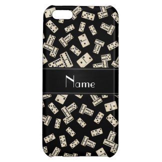 Personalized name black dominos iPhone 5C case