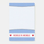 [ Thumbnail: Personalized Name; Blue Dots/Circles Pattern Notes ]