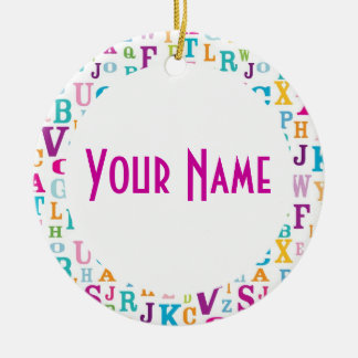Personalized Name Christmas Ornament Gift Keepsake