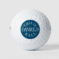 Personalized Name | Create Your Own Golf Balls