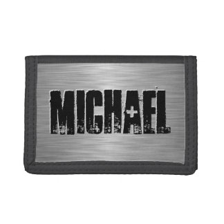 Personalized Name Custom Trifold Wallets