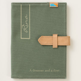 Personalized name, custom words journal
