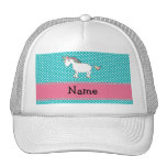 Personalized name cute unicorn hat