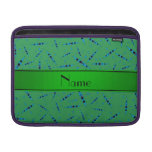 Personalized name green kayaks sleeve for MacBook air