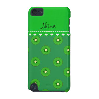Personalized name green kiwi iPod touch (5th generation) case