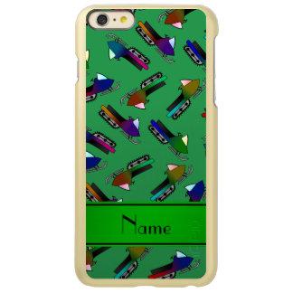 Personalized name green snowmobiles incipio feather® shine iPhone 6 plus case