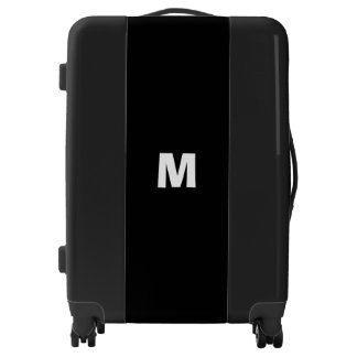 Personalized Name Initials Monograms Monogrammed Luggage