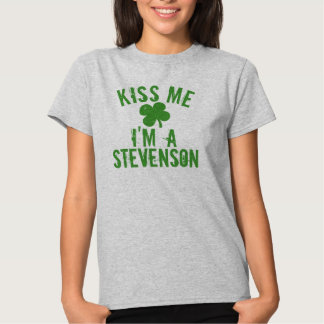 Personalized Name Kiss Me St Patrick's Day Women's T-Shirt
