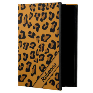 Personalized name  Leopard Print Pattern Powis iPad Air 2 Case