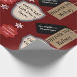 "Personalized Name & Location Official Santa Wrapping Paper<br><div class=""desc"">Perhaps the most anticipated gift for every/any child is the one from Santa.  Help add to Santa's magic with a personalized name and location gift wrap from Santa!  Happy Holidays!</div>"