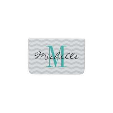 Professional Business Personalized name monogram business card holder