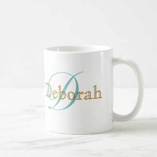 personalized name ~ monogram idea coffee mug