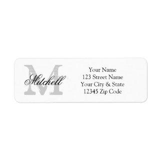 Return Address Labels & Templates | Zazzle